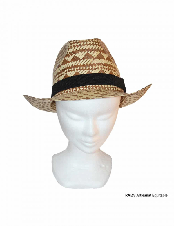 Hat in 100% ecological palm
